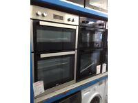Beko built in 90cm double fan oven. £250 new/graded 12 month Gtee