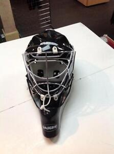 Vaughn Hockey Mask- Black/Grey (sku: Z15021)