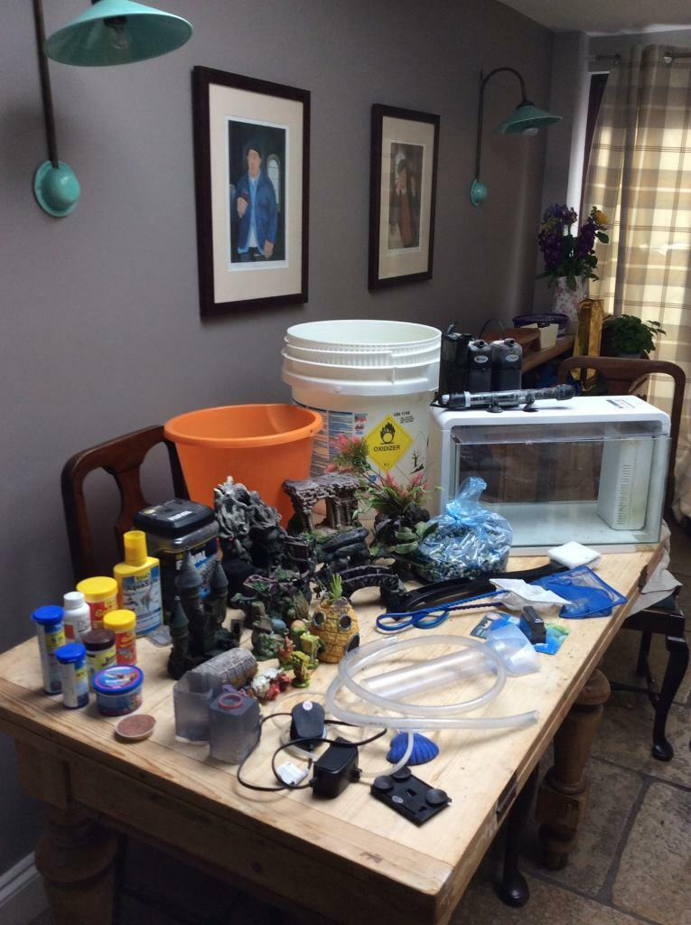 Huge Job Lot of Aquarium accessories and fish tank | in ...