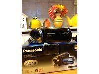 Panasonic HDC-SD40 Video Camera