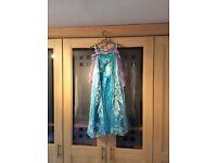 Frozen dress and Disney Cinderella dress