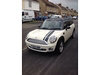 Gorgeous, reliable Mini Cooper Clubman. five door, 1595 cc petrol.
