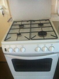 NEW WORLD....All Gas Cooker white