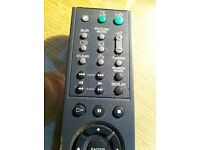 Remote for a Sony DVD player