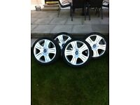 "18"" mondeo alloys and tyres"