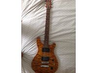 Westfield electric guitar & Behringer amp as new