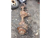Iveco daily rear twin wheel axle