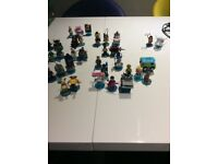 Big collection of Lego dimensions characters. Very good condition.
