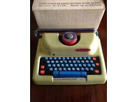 Mettoy typewriter toy