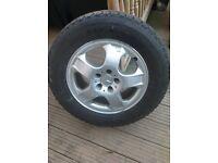 Mercedes ml spare wheel
