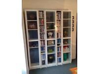 IKEA Billy bookshelves/cd/display cabinets