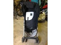 Silvercross buggy, foot muff and rain cover