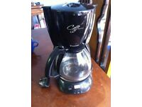 Black Coffee Maker Machine Cafetiere Jug