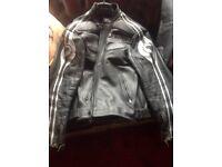 Motorcycle Leather Jacket Bering Size XXL