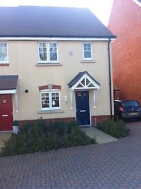 Lovely 3 bedroom house with garage available on long let