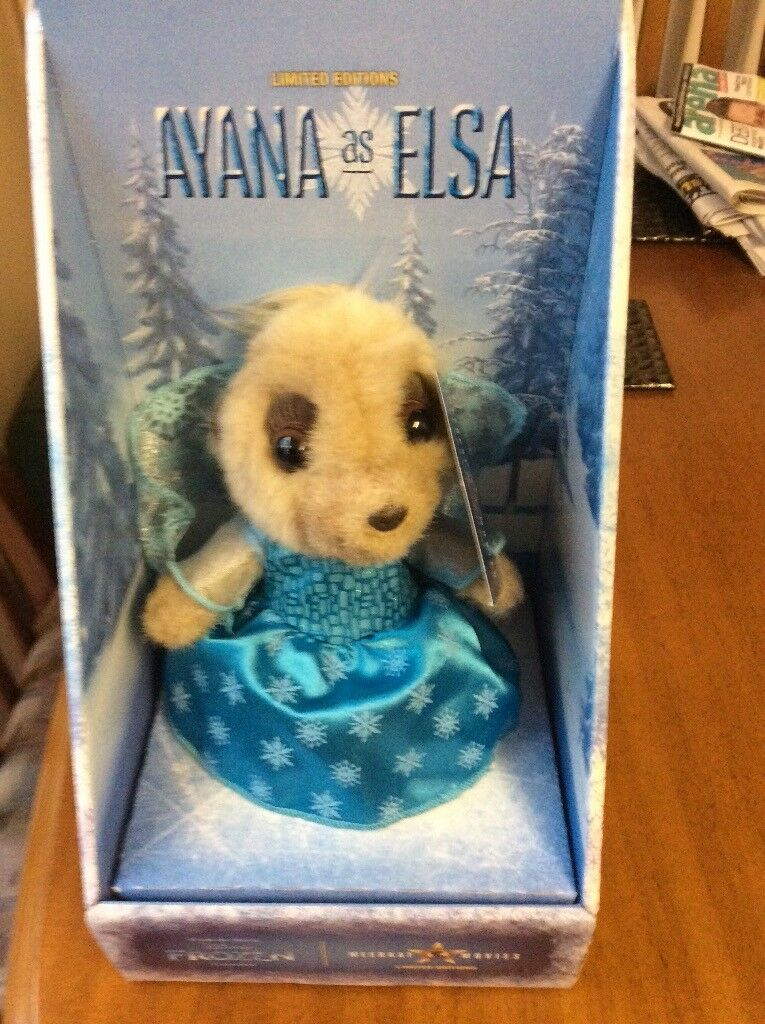 Frozen Anaya as Elsa Meerkat new in box with all certificates quite rare