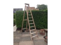 Traditional Wooden Step-ladder