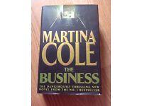 4 Martina Cole Hardback Books