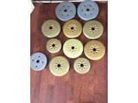 Weight plates 22 kg