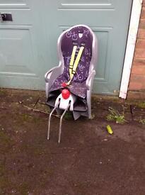 Hamax Sleepy bike kids child's seat with bracket