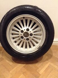 BMW Alloy wheel and tyre