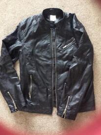 Jack jones biker jacket large