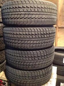 4 pneus d'hiver 185/55 r15 fédéral himalaya.  190$