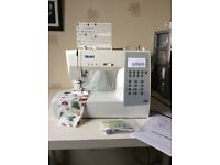 Silver 9400 Sewing Machine - gift used twice