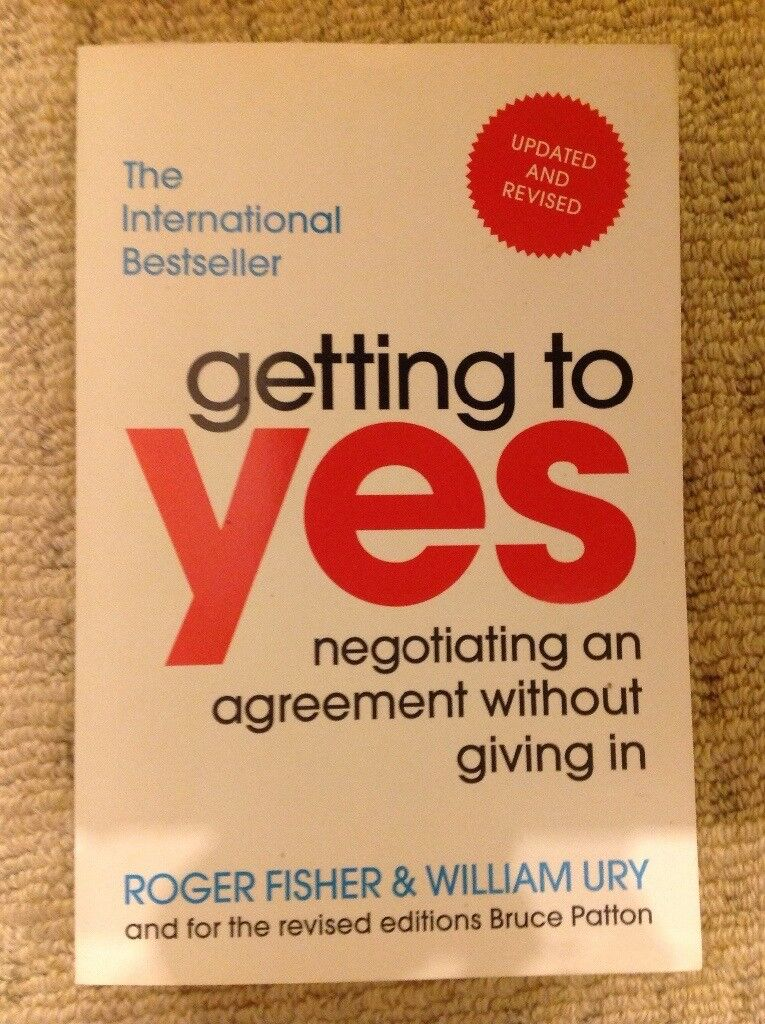 Law book, Getting to Yes