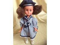 Vintage Made in Hong Kong doll - 60's 70's - restored, cleaned