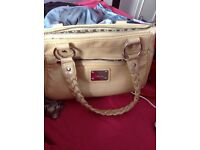 Harrods hand bag and matching purses And onother purse