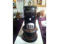 Ornate Patio Outdoor Heater / Paraffin Burner & Paraffin