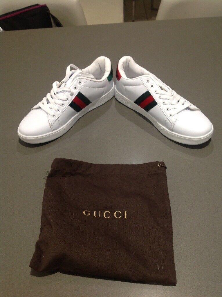 52548c645e6 Gucci style ace trainers men women size 7
