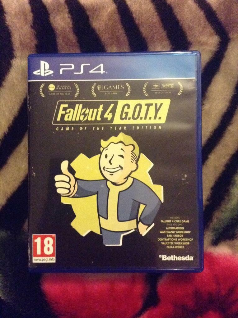 FALLOUT 4 GOTY (game of the year edition) (without dlc) | in Pitsea, Essex  | Gumtree