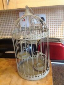 Birdcage Candle/tealight holder (new)