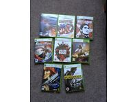 8 X Xbox 360 games