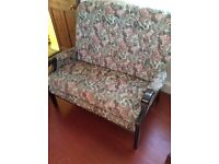 """Antique"" 2 seater cottage style settee / sofa"