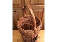 Large Rattan Wicker Basket