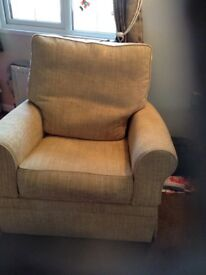 M&S chairs with foot recliner