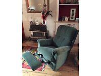 Green Lazy Boy Recliner Armchair for Sale, Eastville