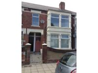 Two bedroom flat in sought after Baffins area own front door rear access and own garden