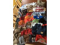 Huge Bundle of boys clothes (46 items) ages 2-3 (19 items), 3-4 (27 items)
