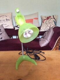 Ikea light, green - very good condition