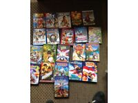 Collection of kids DVDs