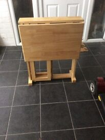 John Lewis solid wood drop leaf table.excellent condition.