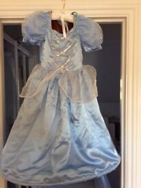 Official Disney reversible Cinderella dress and shoes