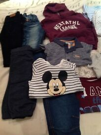 BABY BOY CLOTHES BUNDLE - Size 6/9 Months