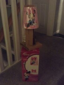 BRAND NEW MINNIE MOUSE LAMP