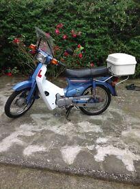 Honda c90...£800