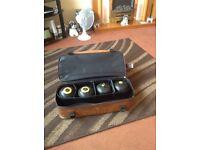 Reydon bowls bag & set of Cotswold size 6 bowls